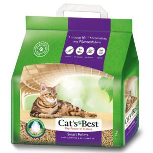 Наполнитель для кошачьего туалета Cat's Best Smart Pellets, 5 кг, 10 л