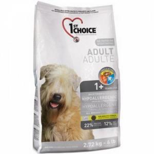 Корм для собак 1st Choice Hypoallergenic, 12 кг, утка и картофель