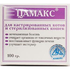 Витамины для кошек Цамакс, 100 г