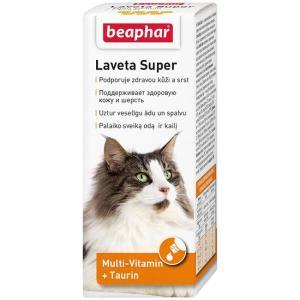 Витамины для кошек Beaphar Laveta Super, 50 г, 50 мл