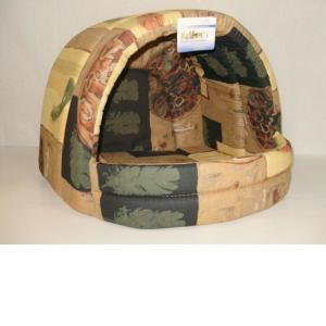 Домик для собак Бобровый дворик, размер 1, цвета в ассортименте