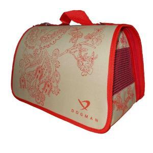 Сумка-переноска для собак и кошек Dogman Лира, размер 3, размер 44х27х27см., цвета в ассортименте