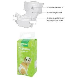 Памперсы для собак Triol L