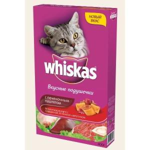 Корм для кошек Whiskas Паштет, 350 г, говядина с кроликом