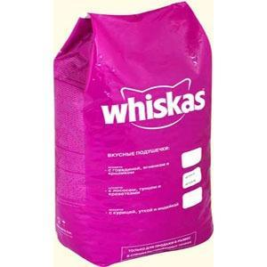 Корм для кошек Whiskas Паштет, 5 кг, говядина с ягненком и кроликом