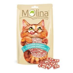 Лакомство для кошек Molina, 80 г