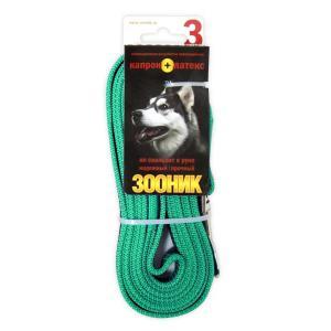 Поводок для собак Зооник 11423-1, зеленый