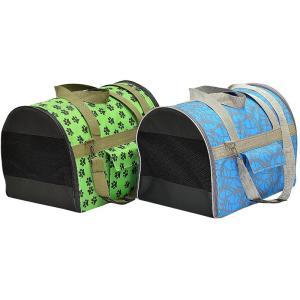 Сумка - переноска для собак и кошек Зооник 2241, размер 32х36х47см., цвета в ассортименте