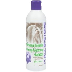 Шампунь для собак и кошек 1 All Systems Whitening Shampoo, 250 мл