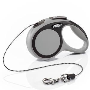 Поводок-рулетка для собак Flexi New Comfort XS, серый