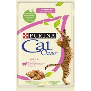 Корм для кошек Purina Cat Chow Adult, 85 г, ягненок