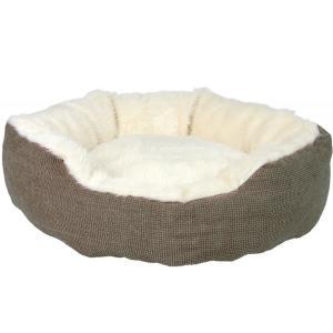 Лежак для собак и кошек Trixie Yuma, размер 45см., коричневый / белый