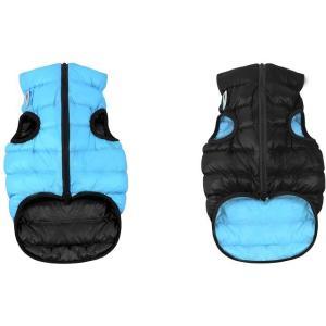 Куртка для собак AiryVest 1632 M, черно-голубой