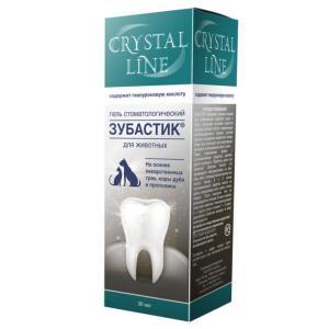 Гель для зубов собак и кошек Api-San Crystal Line Зубастик