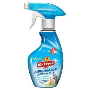 Ликвидатор запаха для птиц и грызунов Mr. Fresh Expert 2 в 1, 200 мл