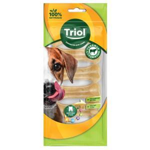 Лакомства для собак Triol, 12 г, сыромятная кожа, 6 шт.