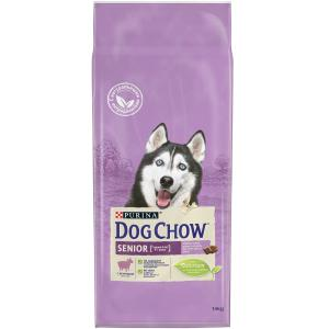 Корм для собак Purina Dog Chow Senior, 14 кг, ягненок