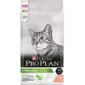 Корм для кошек Pro Plan Sterilised, 10 кг, лосось