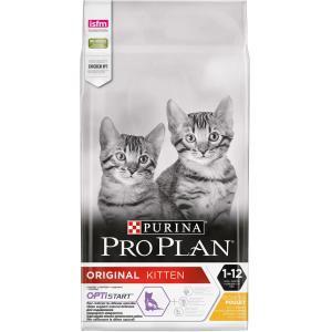 Корм для котят Pro Plan Junior, 10 кг, курица
