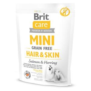 Корм для собак Brit Care MINI Hair & Skin, 400 г, лосось