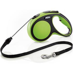 Рулетка для собак Flexi New Comfort M Cord, зеленый