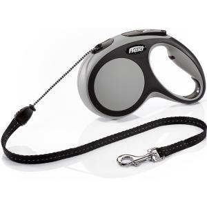 Рулетка для собак Flexi New Comfort M Cord, серый