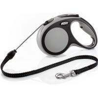 Фотография товара Рулетка для собак Flexi New Comfort M Cord, серый