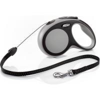 Фотография товара Поводок-рулетка для собак Flexi New Comfort S Cord, серый