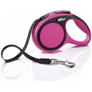 Поводок-рулетка для собак Flexi New Comfort XS, розовый