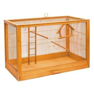 Клетка для птиц Дарэлл Ретро Кантри, размер 56х30х35см., клён