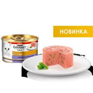 Корм для кошек Gourmet Gold Суфле с ягненком и зеленой фасолью 85 г Gourmet, 85 г, ягненок и зеленая фасоль