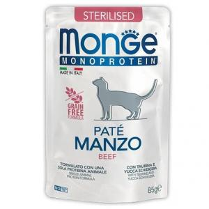 Корм для кошек Monge Cat Monoprotein Pouch, 85 г
