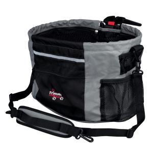 Сумка-переноска для собак Trixie Biker-Bag, размер 38x27x28см., черный/серый
