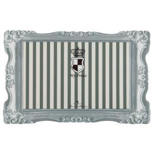 Коврик под миску Trixie My Prince, размер 44×28см., серый