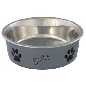 Миска для собак Trixie Stainless Steel Bowl, размер 14см., цвета в ассортименте