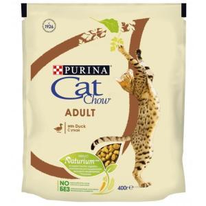 Корм для кошек Purina Cat Chow Adult, 400 г, утка