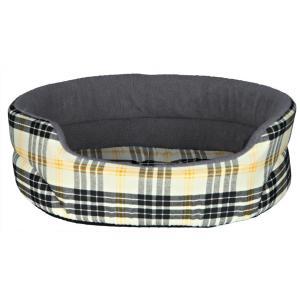 Лежак для собак и кошек Trixie Lucky XS, размер 45х35см., бежевый / серый