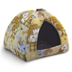Домик для собак и кошек Гамма Дг-06000, размер 41х41х46см., цвета в ассортименте