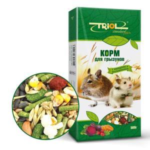 Корм для грызунов Triol Standard, 500 г, овощи, шиповник