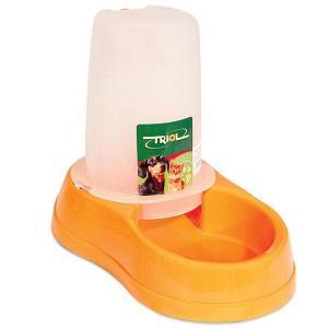 Автокормушка-автопоилка для собак и кошек Triol SH3925, размер 28х17.5х23см., цвета в ассортименте