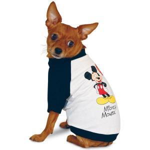 Футболка для собак Triol Mickey XS, размер 19см., черный с белым