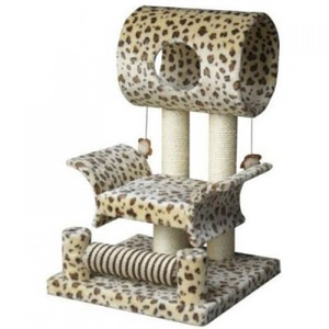 Домик-когтеточка для кошек Fauna International