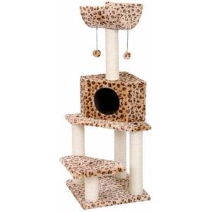 Домик-когтеточка для кошек Fauna International Bella, размер 40х40х113см.