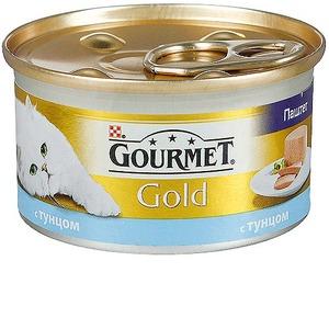 Корм для кошек Gourmet Gold, 85 г, Тунец