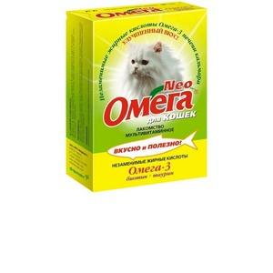 Витамины для кошек Омега