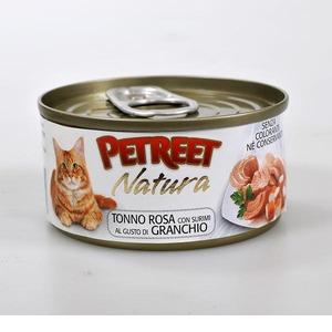 Корм для кошек Petreet, 70 г, тунец