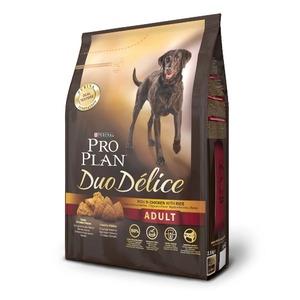 Корм для собак Pro Plan Duo Delice, 2.5 кг, курица с рисом