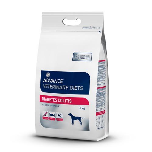 Корм для собак Advance Veterinary Diets Diabetes Colitis, 3 кг