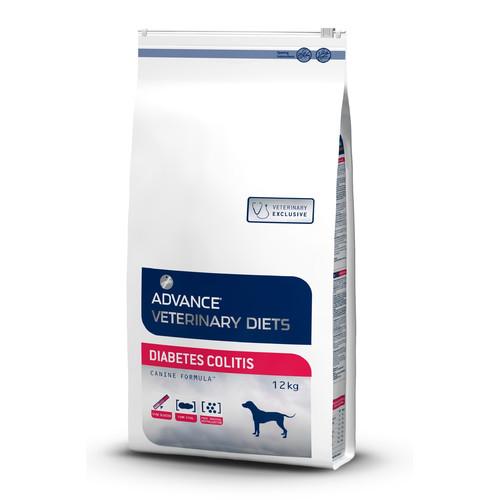Корм для собак Advance Veterinary Diets Diabetes Colitis, 12 кг