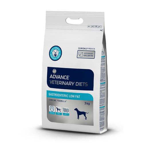 Корм для собак Advance Veterinary Diets Gastroenteric Low Fat, 3 кг